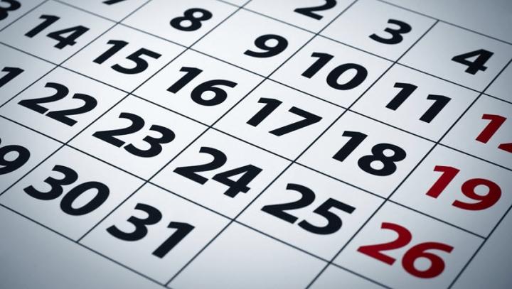 Días inhábiles en el ámbito de la Comunidad Foral de Navarra a efectos de cómputo de plazos para el año 2017.